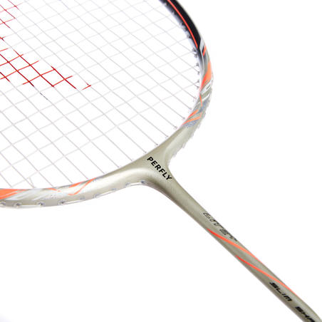 Raquette de badminton adulte BR900 ultra légère P - or/orange