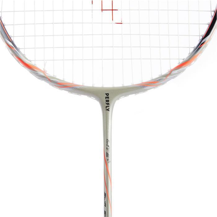 Badmintonracket voor volwassenen BR 900 Ultra Lite goud/oranje