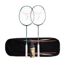 BADMINTON ADULT RACKET BR 900 ULTRA LIGHT SET PRO