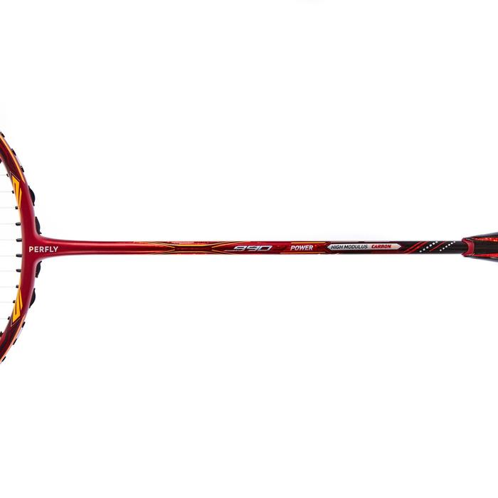 Raquette de Badminton Adulte BR 990 P - Rouge/Orange