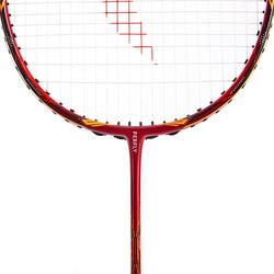 Raquette de Badminton Adulte BR 990 P tige rigide - Rouge/Orange