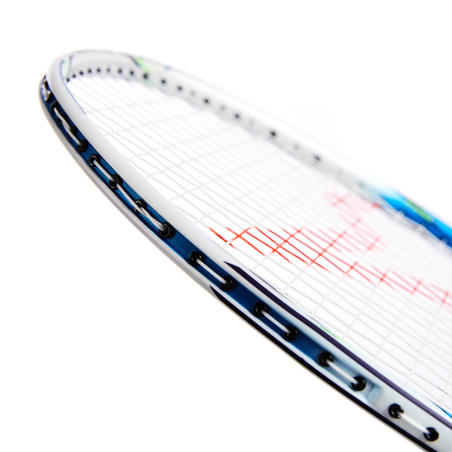 BADMINTON ADULT RACKET BR 990 V WHITE BLUE