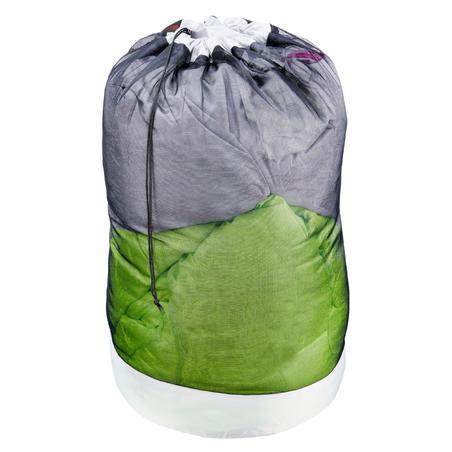 Sac housse de stockage en filet pour sac de couchage