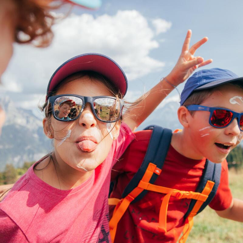 Enfants randonnée nature