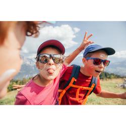 Casquette de randonnée enfant MH100 violette