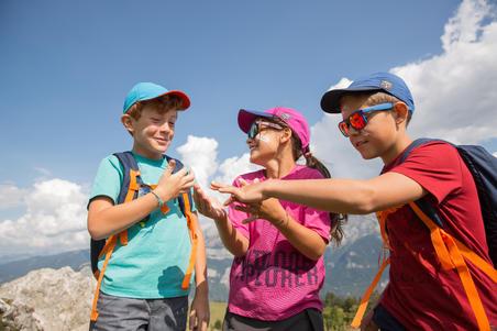 MH100 topi mendaki anak- Toska