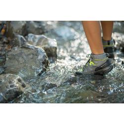 Chaussures randonnée enfant montantes imperméables MH120 MID bleues 35 AU 38