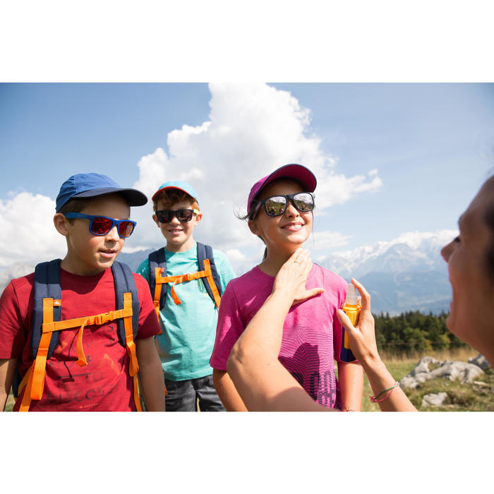 MH100 Children's Hiking Cap - Burgundy Red