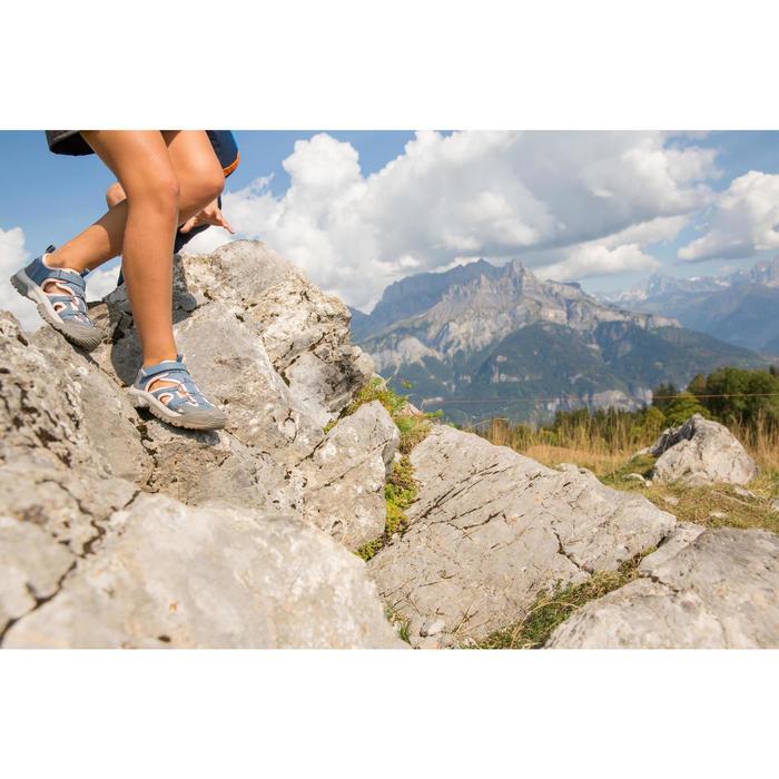Sandales de randonnée enfant MH150 JR grises/roses