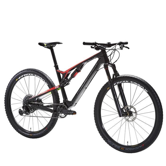"MTB XC 900 S 29"" vollgefedert Carbon rot/schwarz"