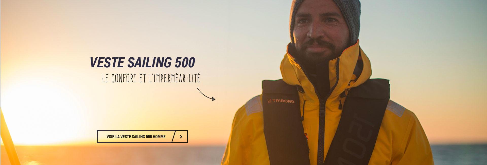 La nouvelle veste de quart Sailing 500 de Tribord