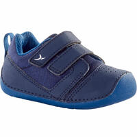Baby Shoes 500 I Learn Sizes 3.5 to 7 - Navy Blue