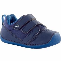 Turnschuhe 500 I Learn Babyturnen marineblau/blau