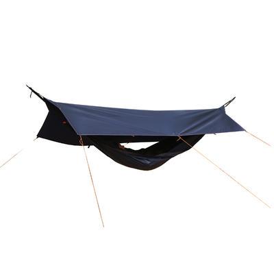 Tente multifonction (hamac, abri, tarp, tente… ) 2 personnes bleue