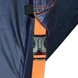 Multifunktionszelt (Hängematte, Plane, Strandmuschel, Zelt…) 2 Personen blau