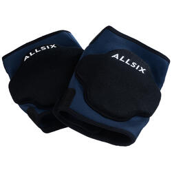 Rodilleras de Voleibol Allsix VKP500 ajustables azul