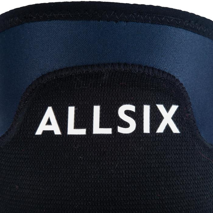 Verstelbare kniebeschermers voor volleybal VKP500 marineblauw