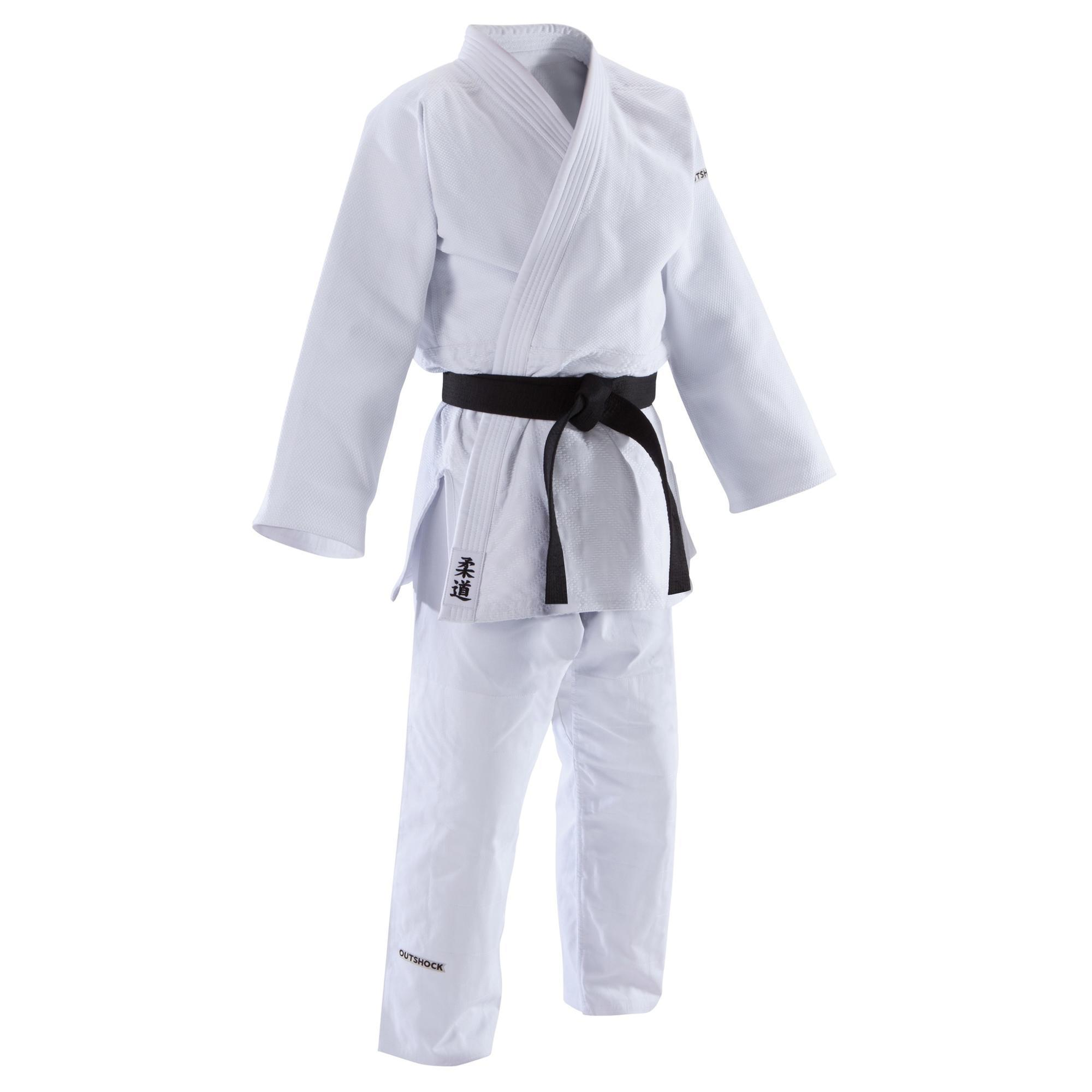 Judoanzug 900 Erwachsene weiß | Sportbekleidung > Sportanzüge > Judoanzüge | Outshock