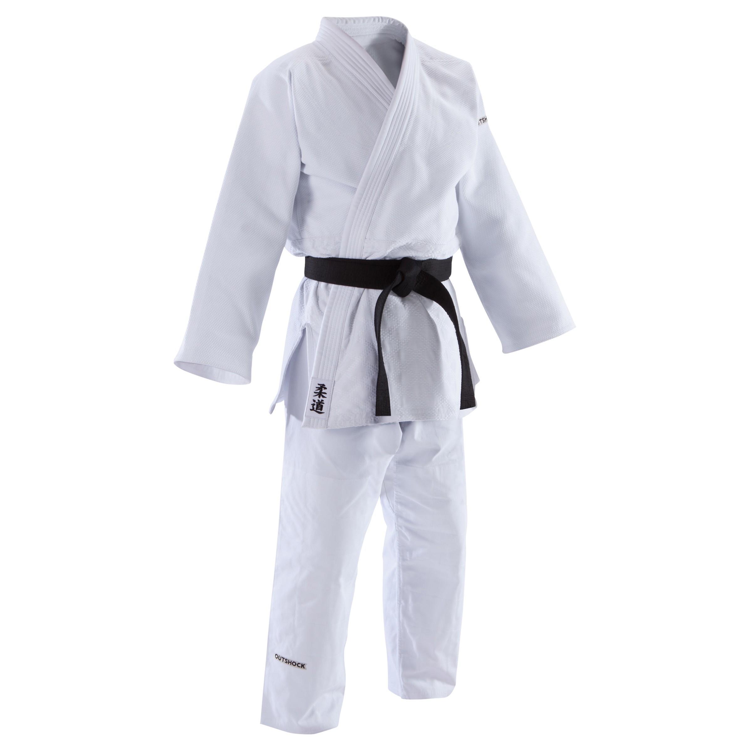 Outshock Judopak 900 volwassenen wit