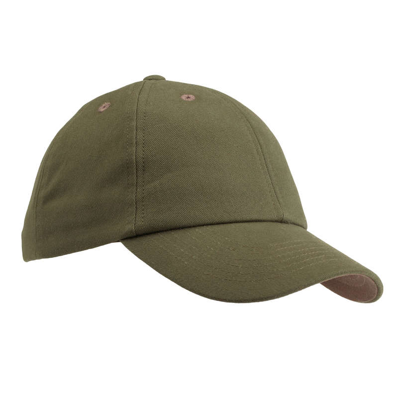 JUNIOR CLOTHING Shooting and Hunting - K LIGHT CAP 100 GREEN SOLOGNAC - Hunting and Shooting Clothing