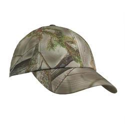 Warme jagerspet voor kinderen 100 camouflagebruin