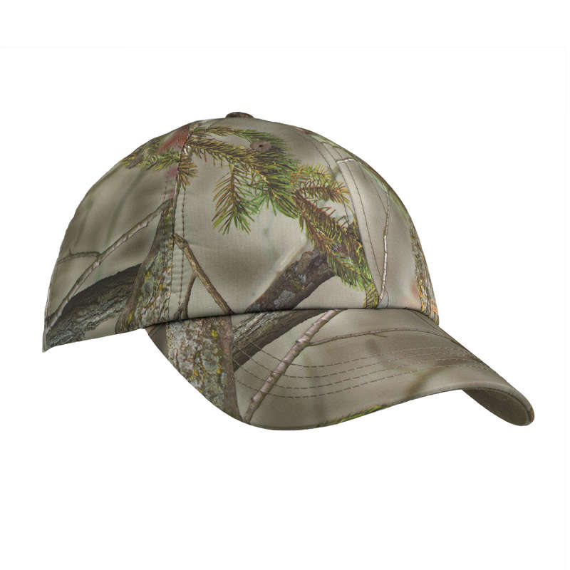 JUNIOR CLOTHING Shooting and Hunting - KIDS WARM CAP 100 CAMO SOLOGNAC - Hunting and Shooting Clothing