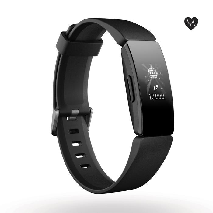 Activity tracker Inspire HR (hartslagmeting aan de pols) zwart