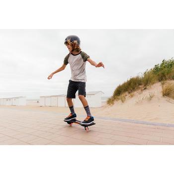 Waveboard Oxeloboard schwarz/weiß