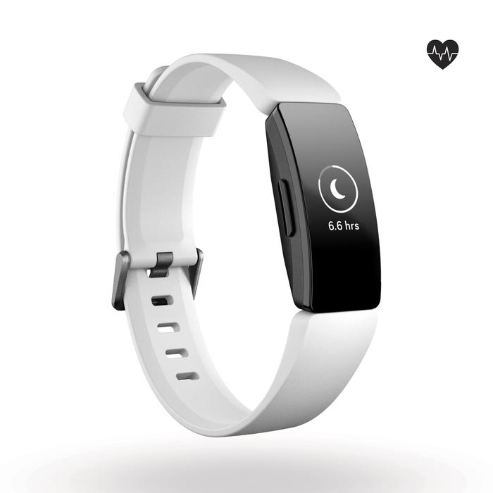 Activity tracker Inspire HR (hartslagmeting aan de pols) wit