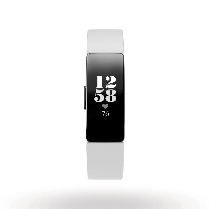 Bracelet d'activité INSPIRE HR (cardio au poignet) blanc
