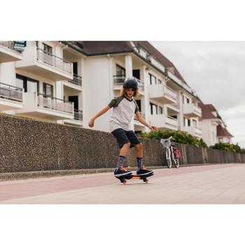 Waveboard WB120 Einsteiger schwarz/lila