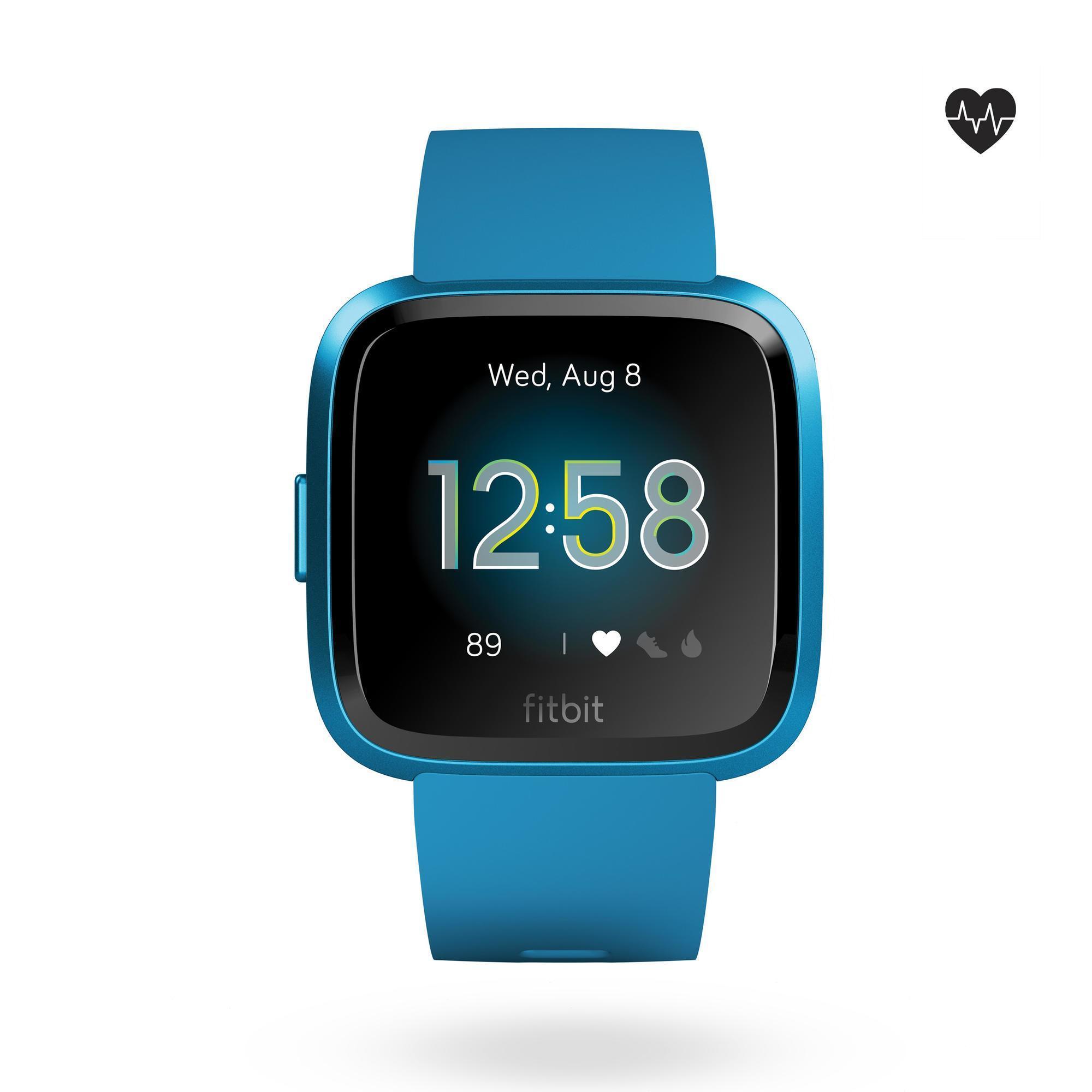 Smartwatch Versa Lite mit Pulsmesser am Handgelenk blau | Uhren > Smartwatches | Fitbit