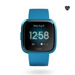 Smartwatch met hartslagmeter aan de pols Versa Lite blauw
