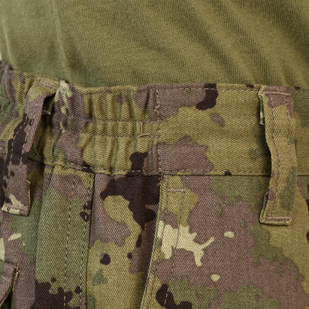 Junior hunting trousers - camouflage