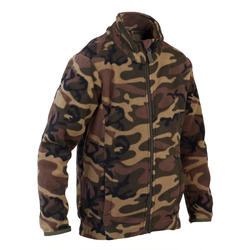Junior Hunting Fleece Sweater Camo Green