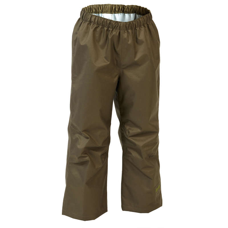 JUNIOR CLOTHING Shooting and Hunting - INVERNESS 100 overtrousers SOLOGNAC - Hunting and Shooting Clothing