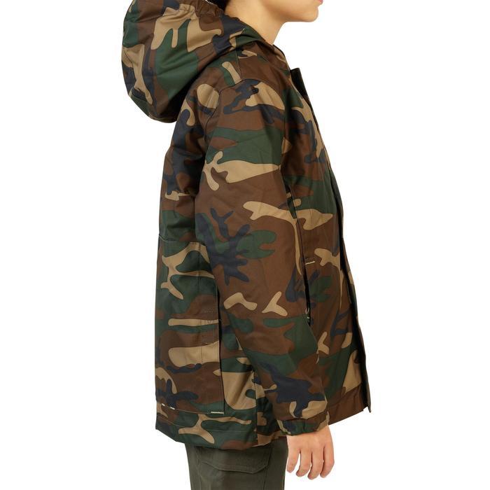 Veste chasse 100 junior camouflage vert