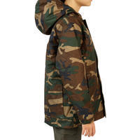 Junior 100 camouflage jacket green