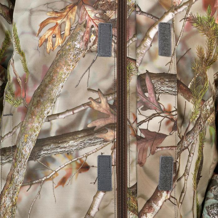 Jagdjacke / Regenjacke Kinder warm SIBIR 300 camouflage