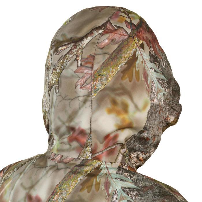 Warme en waterdichte kinderjas voor de jacht Sibir 300 camouflage