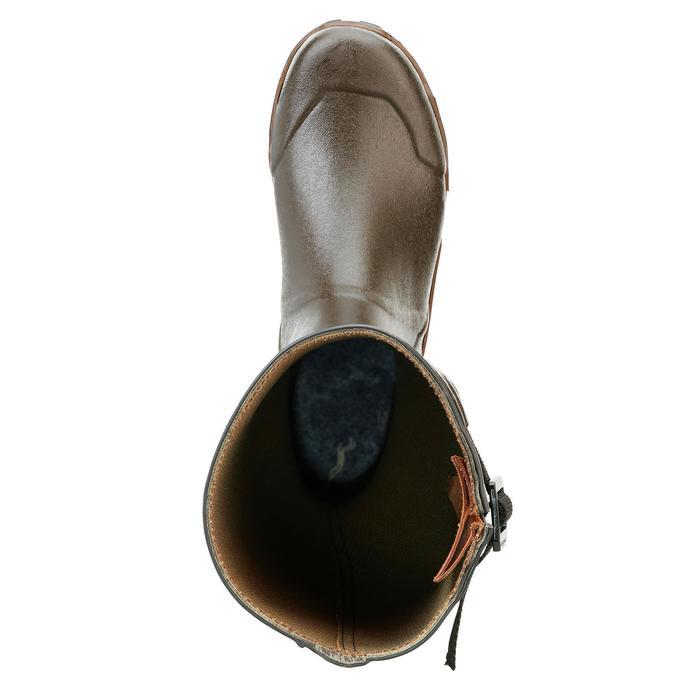 Jachtlaarzen Renfort 920 met plooi bruin