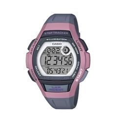 Reloj Cronómetro Running Casio LWS-1000 4AVEF Gris/Rosa