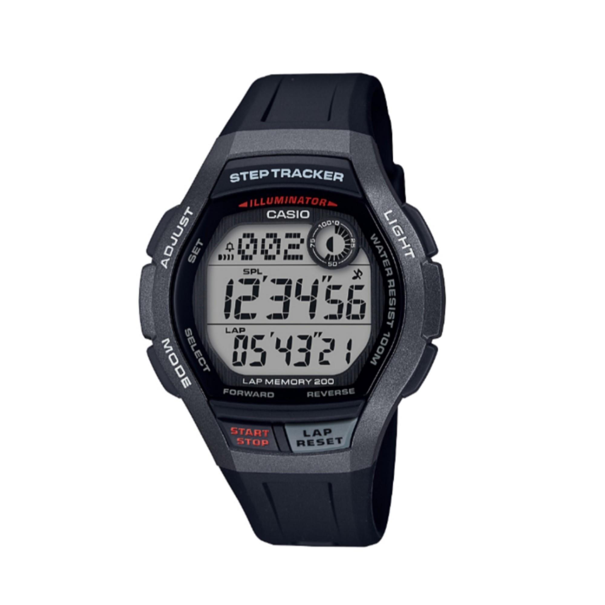 e7d8966e015f Reloj Cronómetro Running Casio WS-2000H-1AVEF Negro Gris Casio ...