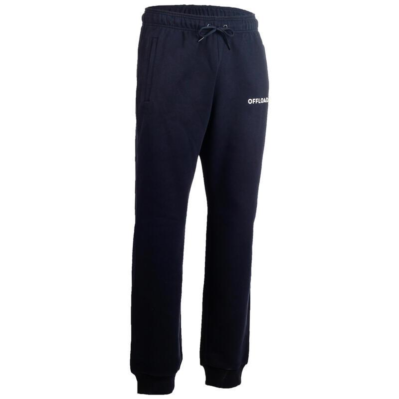 Pantaloni rugby junior R500 CLUB blu