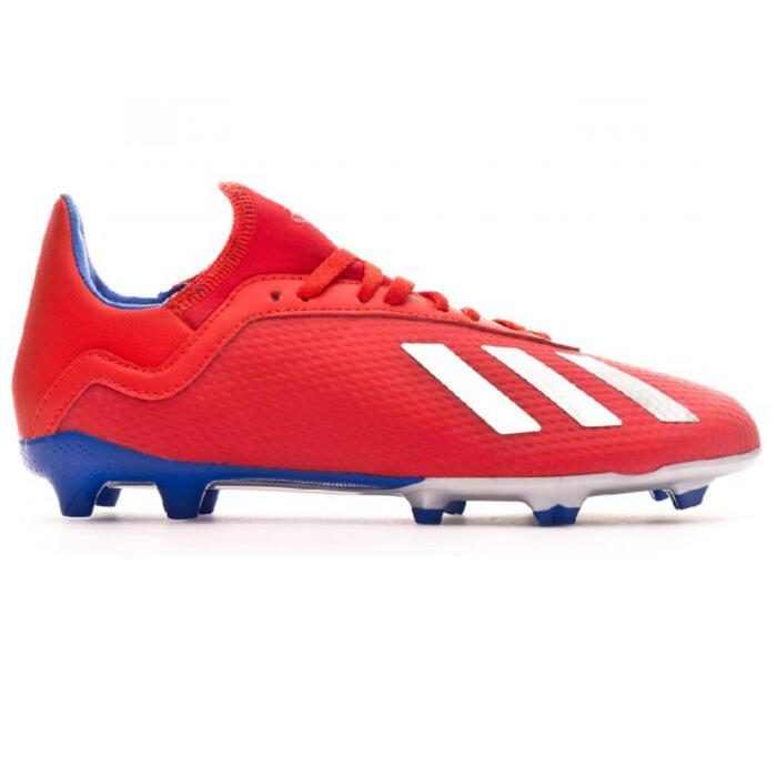 Voetbalschoenen voor volwassenen X 18.3 FG rood