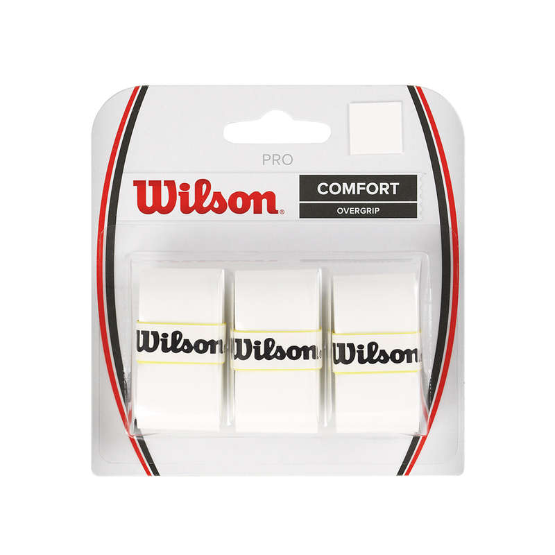 RACKETS ACCESSORIES Squash - Pro Overgrip - White WILSON - Squash