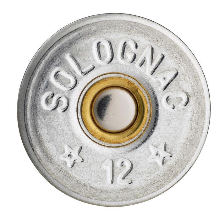 CARTUCHO BALL TRAP T100 24 g STEEL (ACERO) CAL. 12/70 PERDIGÓN N°7 x25 SOLOGNAC