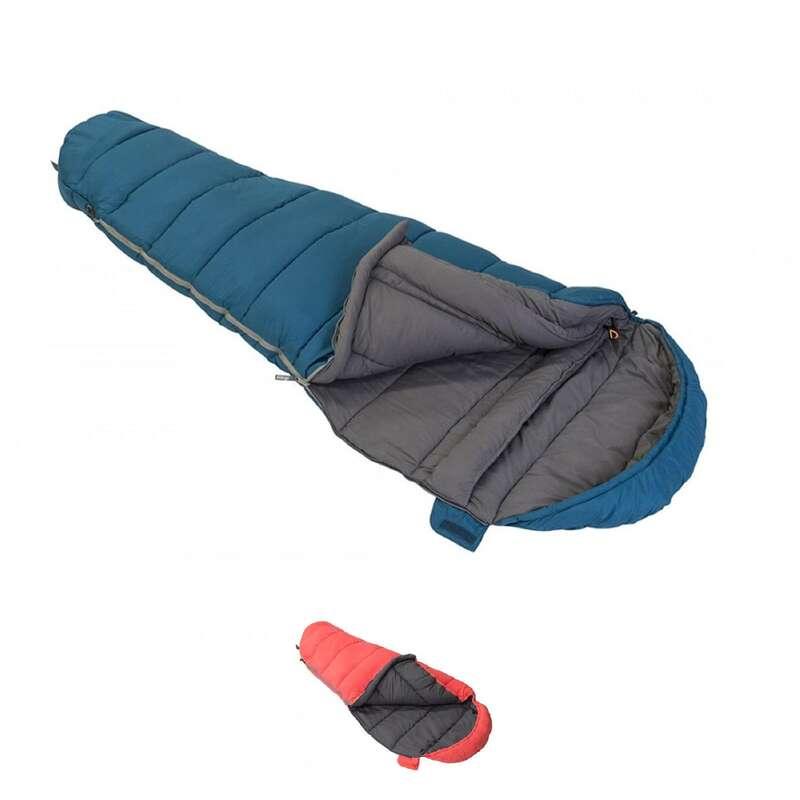 BASE CAMP SLEEPING BAGS Camping - Kanto Junior Sleeping Bag VANGO - Sleeping Equipment ORANGE