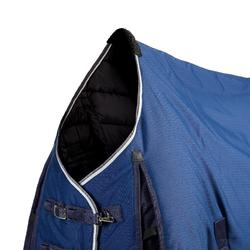 Couverture d'écurie équitation STABLE 300 bleu turquin - taille poney