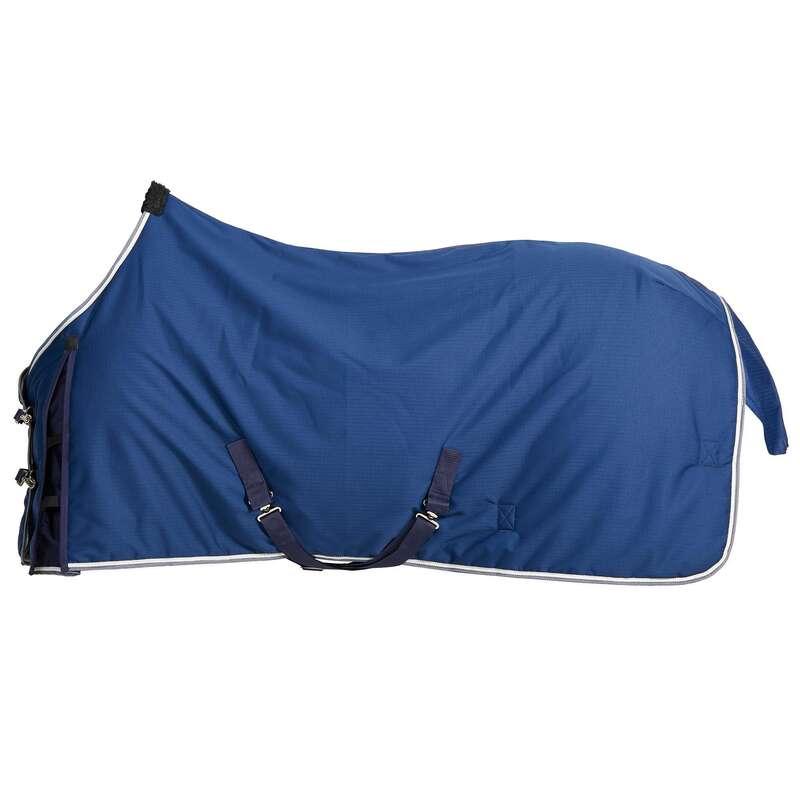 PREKRIVAČI ZA KONJA U STAJI Jahanje - Pokrivač za konje u štali 300 FOUGANZA - Oprema za jahanje
